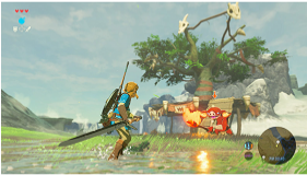 The Legend of Zelda: Breath of the Wild (Wii U) screenshot