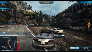 Need for Speed: Most Wanted U (Wii U) screenshot