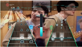 Guitar Hero Live (Wii U) screenshot