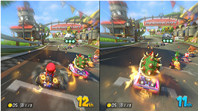 Mario Kart 8 (Wii U) screenshot